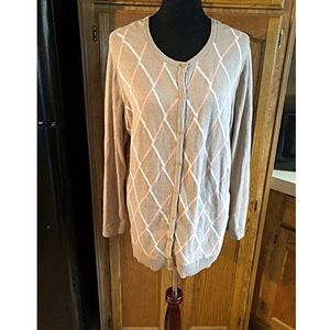 Croft & Barrow Cardigan Sweater Size 1X